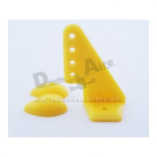 Horns amarillos 20x27mm (10pcs)