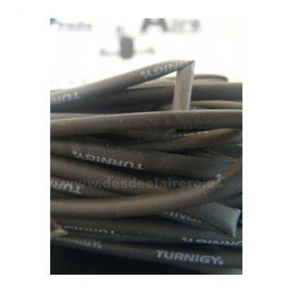 Termoretractil 2mm Negro 1mtr