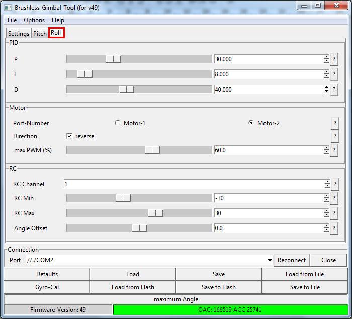 Configuracion controladora gimbal brushless- www.desdeelairerc.es 17