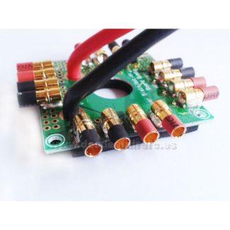 Placa distribuidora para multirrotor con conectores(8 conexiones)