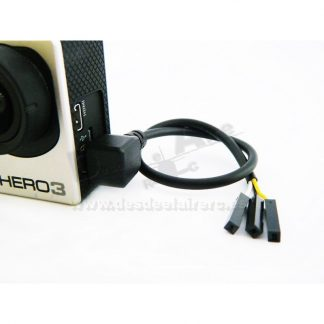Cable video FPV GoPro 3 - 200mm