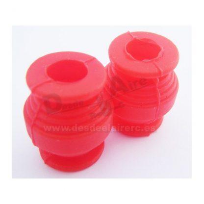 Bolas anti-vibraciones (300gr - rojos) (1 par)