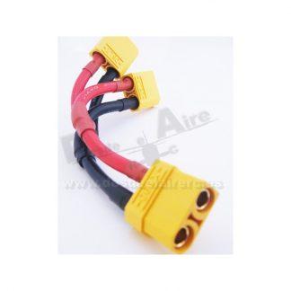 Cable conexión baterias en Paralelo XT90