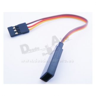 Extensión Cable de servo 10cm JR (26AWG)