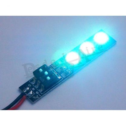 LED RGB (cambio de color con interruptor)