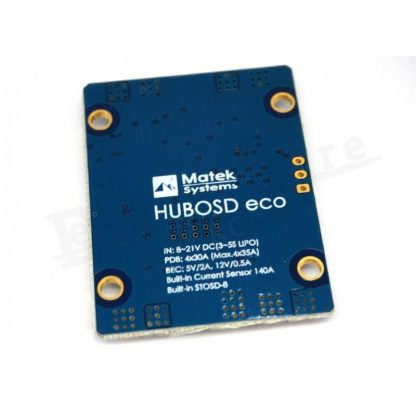 Matek HUBOSD ECO H-Type (PDB + OSD + BEC + Amperimetro)