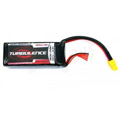 Batería RcProStyle 1500mAh 100C 4S 14.8V Turbulence