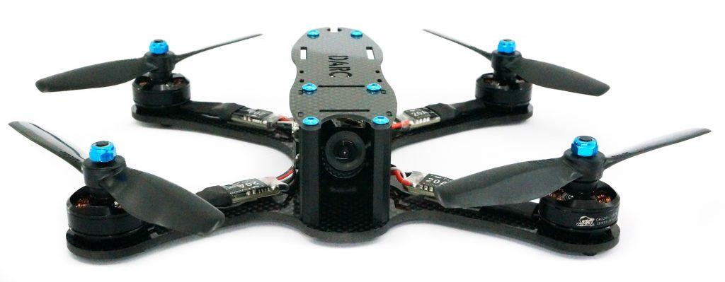 Kit completo montado de drone de carreras