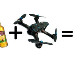 ¿Se puede abrir una cerveza con un Drone? Vídeos épicos