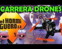 Carrera de Drones en El Hormiguero con Antonio Banderas